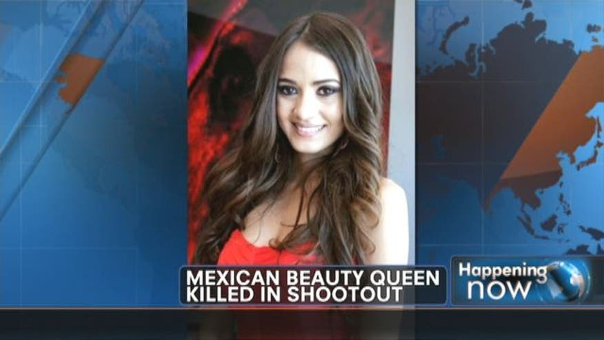Mexican beauty queen Susana Flores María Gámez, her boyfriend and three other people were killed in a confrontation that involved military and a group of armed men.