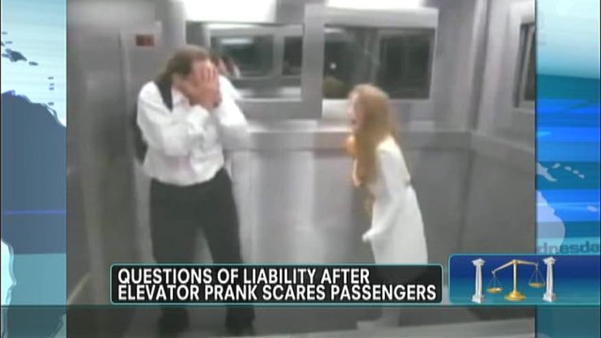 Is Brazilian television show liable for viral prank in elevator?