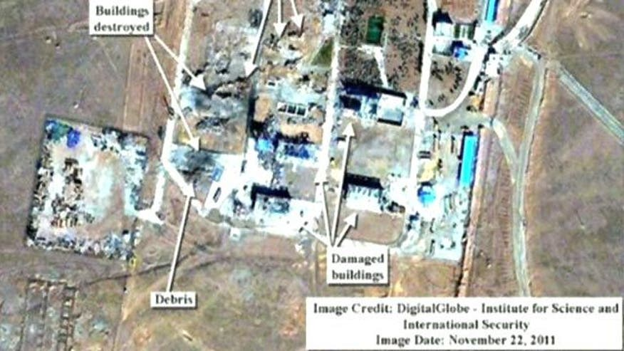 'Extensive damage' at missile site
