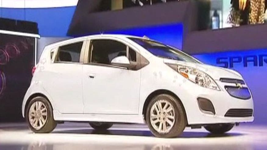 GM President Mark Reuss introduces the Electric Chevy Spark EV
