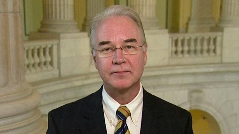 Rep. Price: Any tax hikes are unacceptable