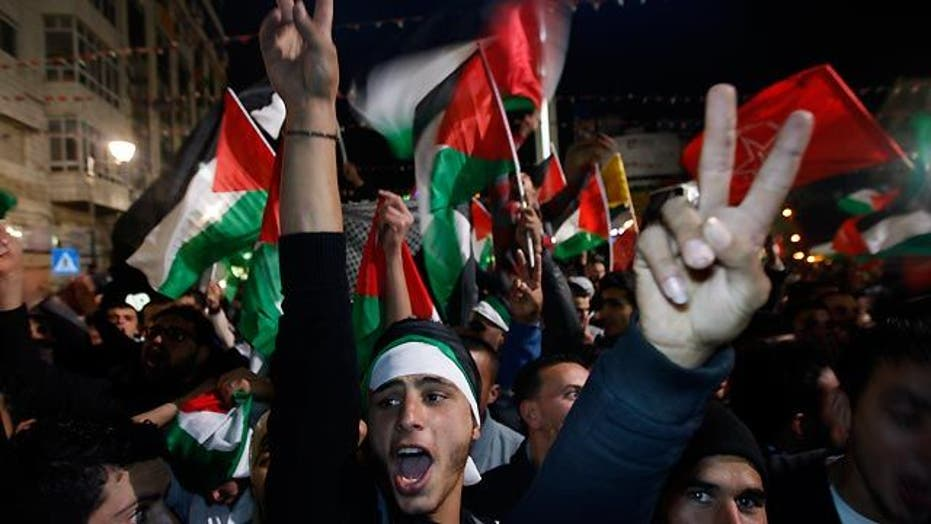 UN General Assembly votes in favor of Palestinian statehood