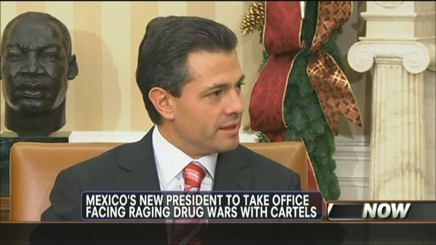 Enrique Peña Nieto promises an agenda of free enterprise, efficiency and accountability.