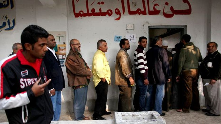 Strong Showing From Hardline Islamists in Egypt Election