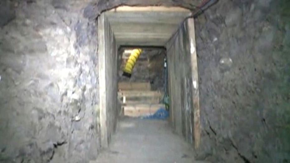 Massive Drug Tunnel Discovered on U.S.-Mexico Border