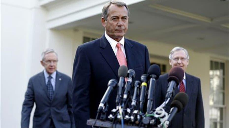 No progress between lawmakers, White House on 'fiscal cliff'