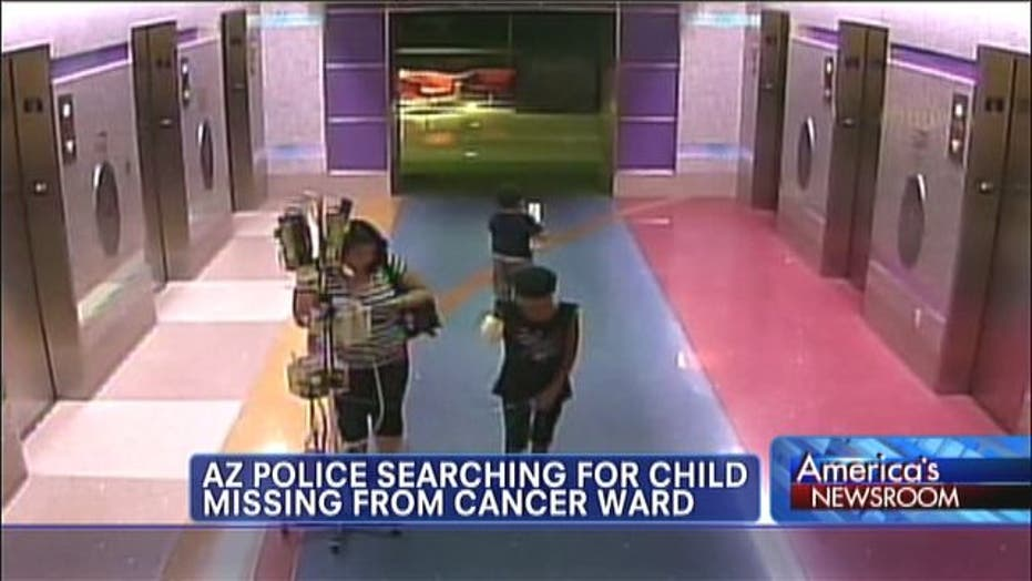 Police Searching for Missing Girl with Leukemia