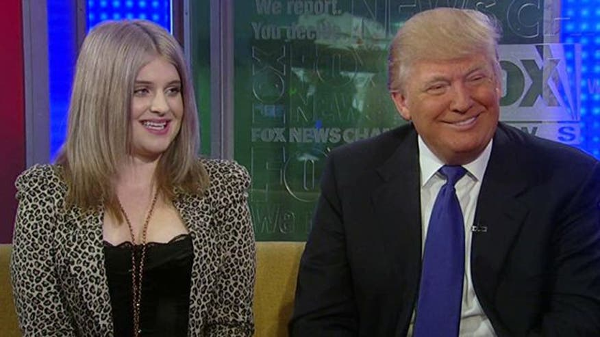 Trump receives Christmas present from Ozzy's daughter