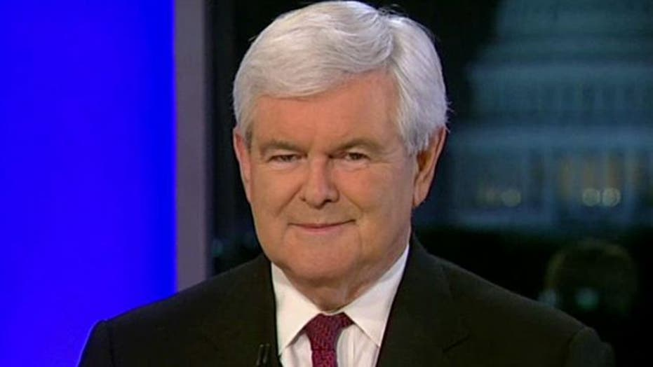 Gingrich Rising 'On the Record,' Pt. 1