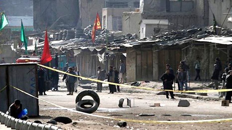 Dozens Dead in Attacks on Afghan Worshippers