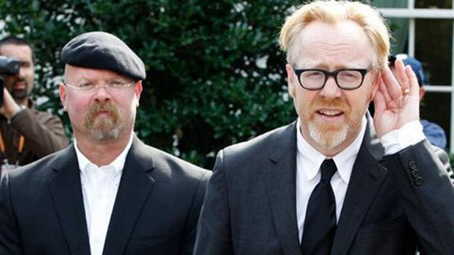 'MythBusters' Cannonball Accidentally Hits Home