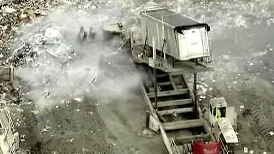 Remains of 274 Soldiers Dumped in Virginia Landfill