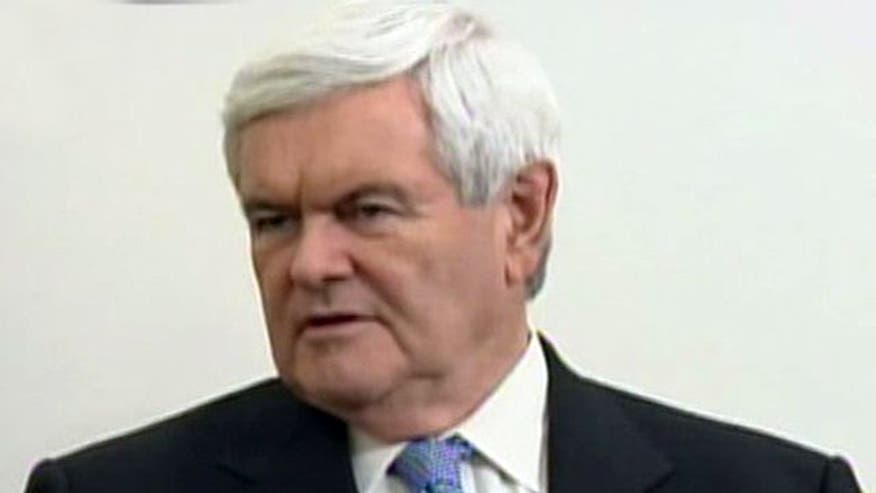 Gingrich's Jewish Channel interview controversy