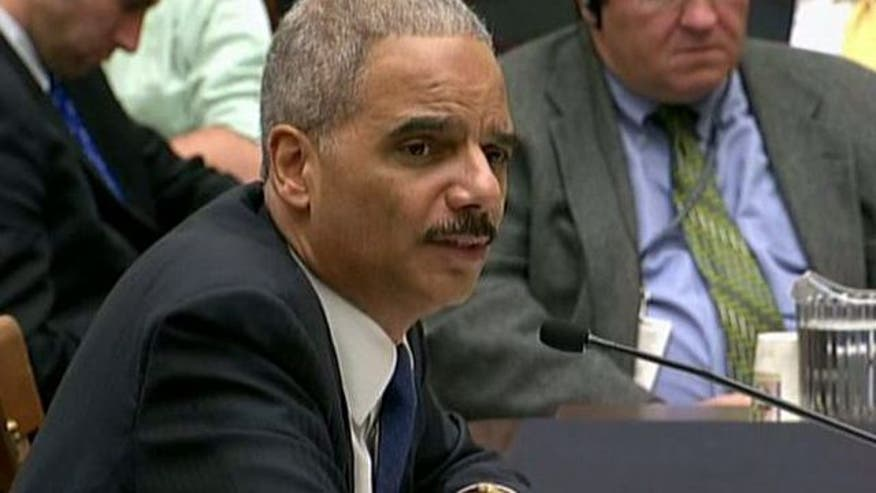 Congressman introduces no-confidence resolution on Attorney General Eric Holder over 'Fast and Furious' scandal
