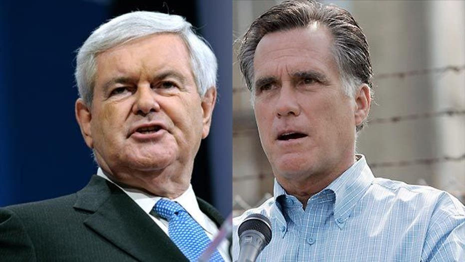Gingrich vs. Romney