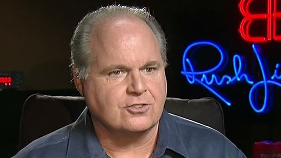 Limbaugh: Obama Has a 'Chip on His Shoulder'