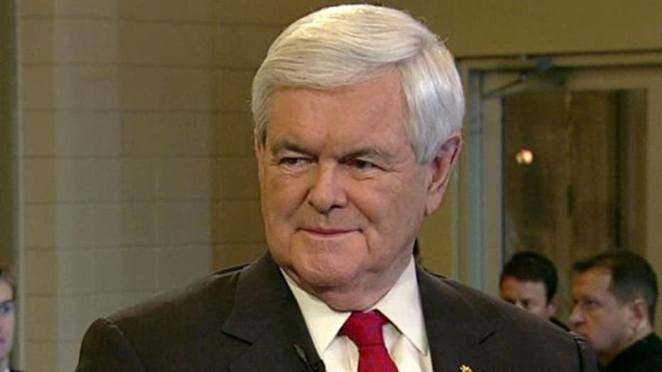 Gingrich Rates Debate Performance