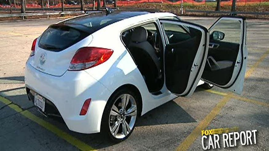 Fox Car Report drives the 2012 Hyundai Veloster