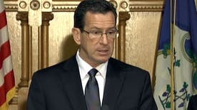 Connecticut Governor Dannel Malloy speaks about school shooting