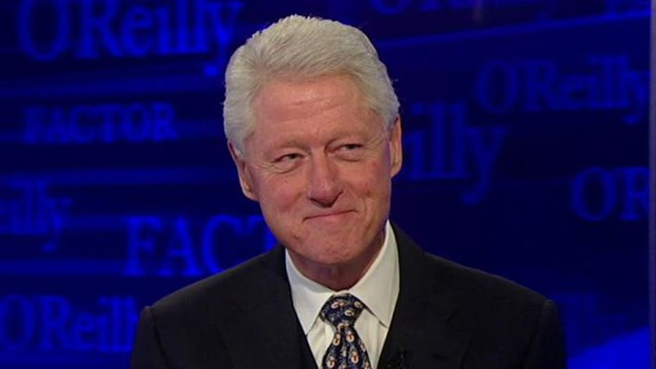 Bill Clinton Enters the No Spin Zone
