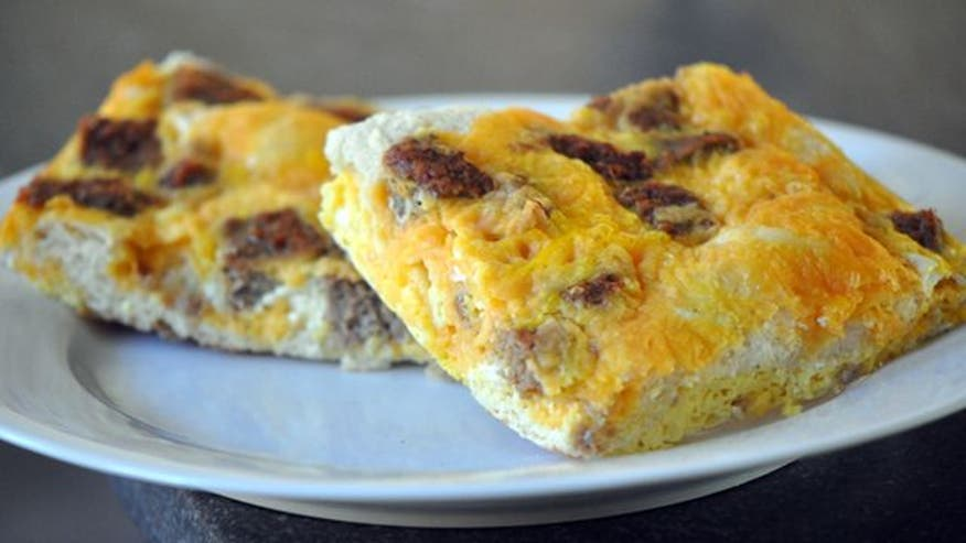 Fox Foodie: How to make a sausage, egg and cheese casserole for your morning guests