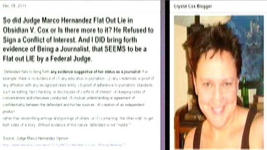 Defamation case highlights blurring of lines between journalists and bloggers