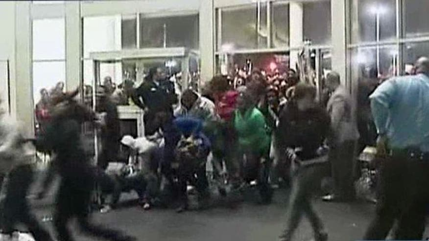 What's behind brawls at U.S. stores?
