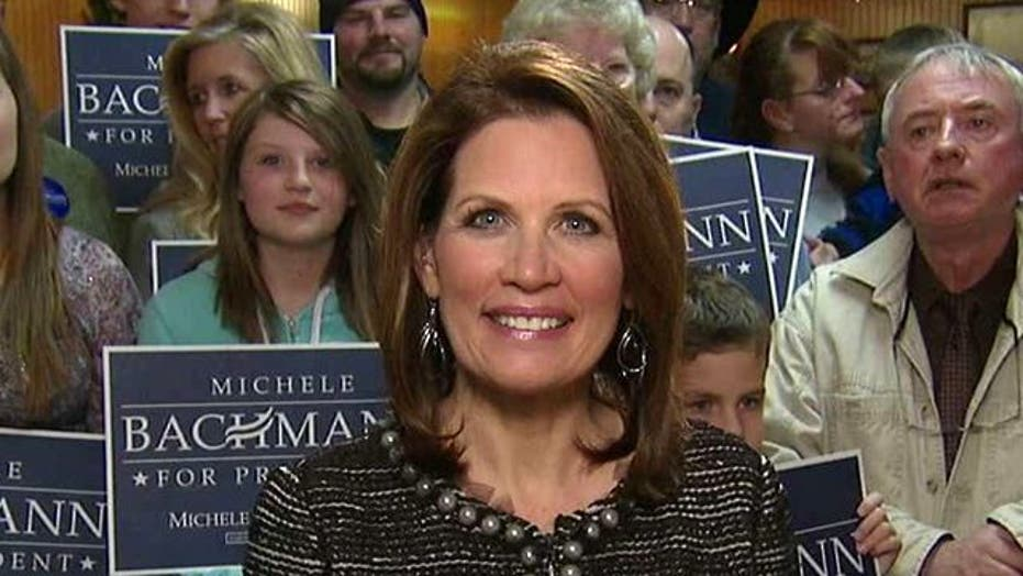 Bachmann the Dark Horse Candidate?