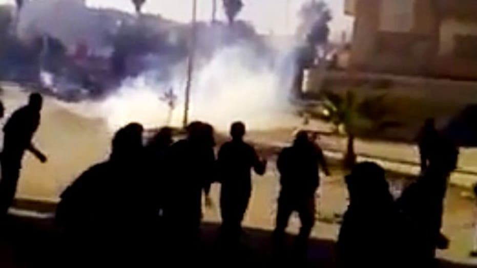 Report: Syrian Security Forces Fire at Protesters